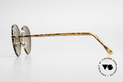 Cutler And Gross 0110 90's Round Designer Sunglasses
