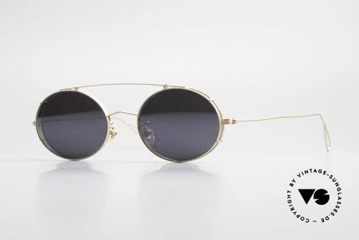 Cutler And Gross 0305 Sonnenbrille mit Sonnenclip Details