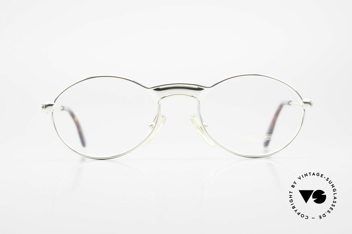 Aston Martin AM01 Oval Glasses James Bond Style, accessory for the luxury British sports cars; just noble!, Made for Men