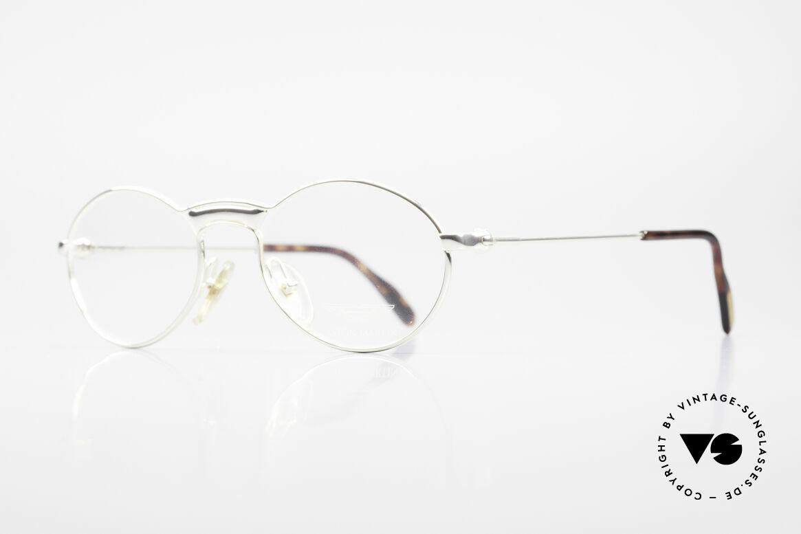 Aston Martin AM01 Oval Glasses James Bond Style, sporty & elegant classic: James Bond 'gentlemen style', Made for Men