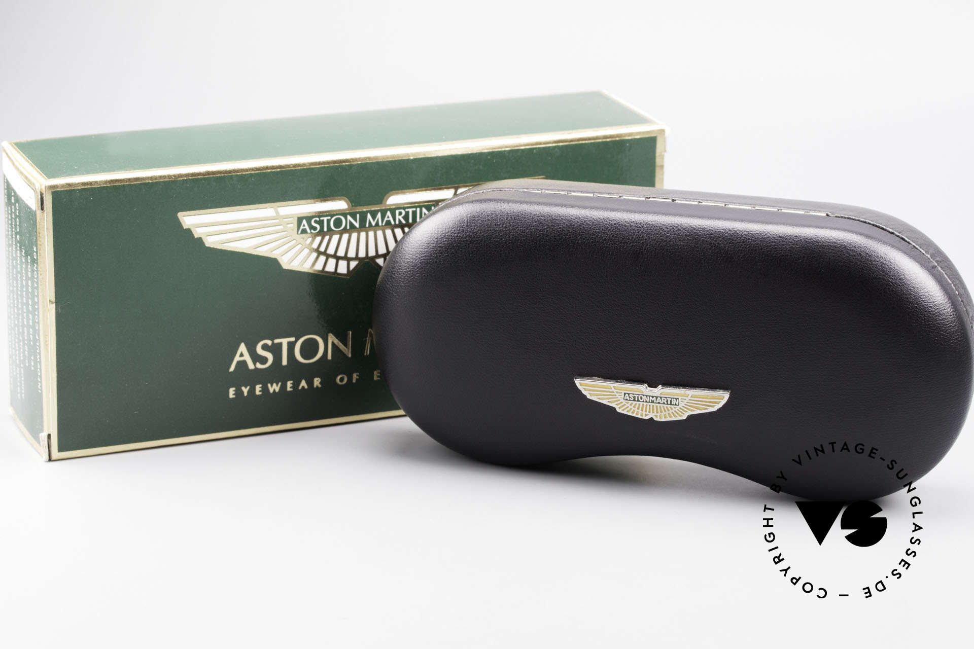 Aston Martin AM01 Oval Glasses James Bond Style, Size: small, Made for Men