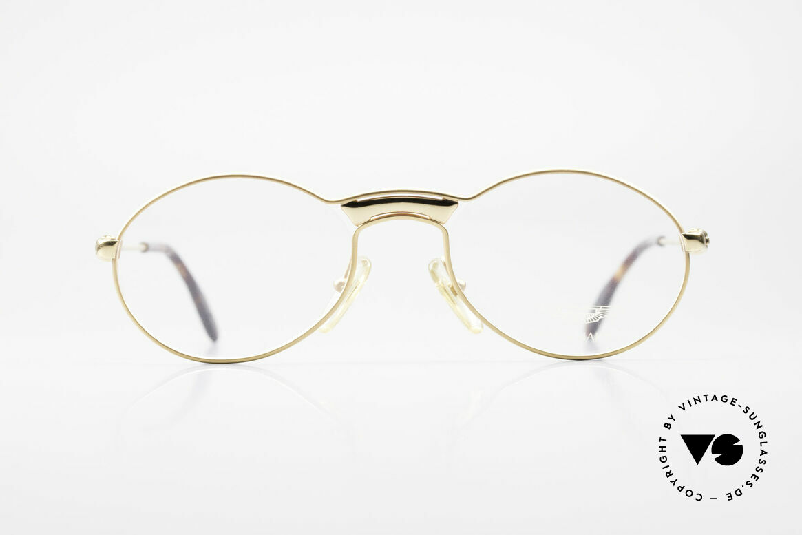 Aston Martin AM01 Oval Glasses Gentleman Style, accessory for the luxury British sports cars; just noble!, Made for Men