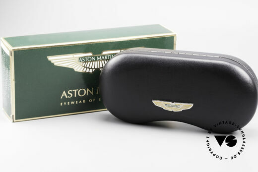 Aston Martin AM01 Oval Glasses Gentleman Style, NO RETRO design glasses, but a unique 1990's original!, Made for Men