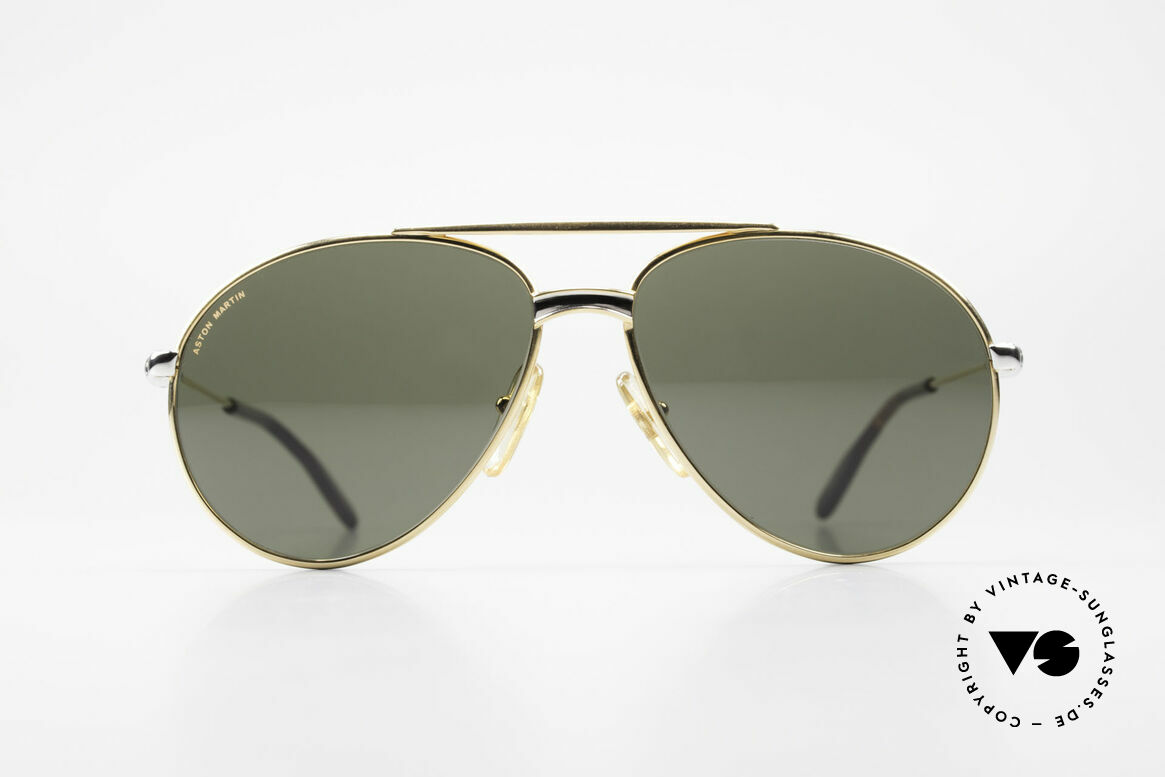 Aston Martin AM02 Aviator Shades James Bond Style, accessory for the luxury British sports cars; just noble!, Made for Men