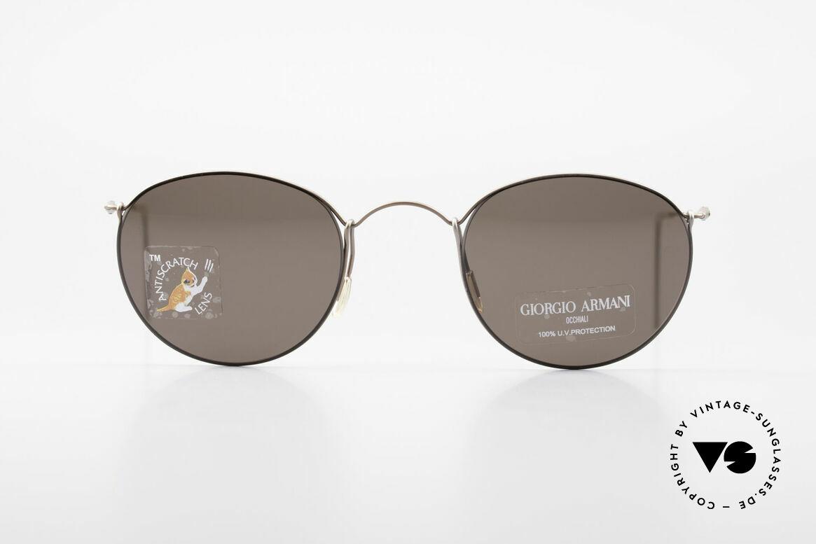 Giorgio Armani 3006 Vintage Panto Wire Glasses