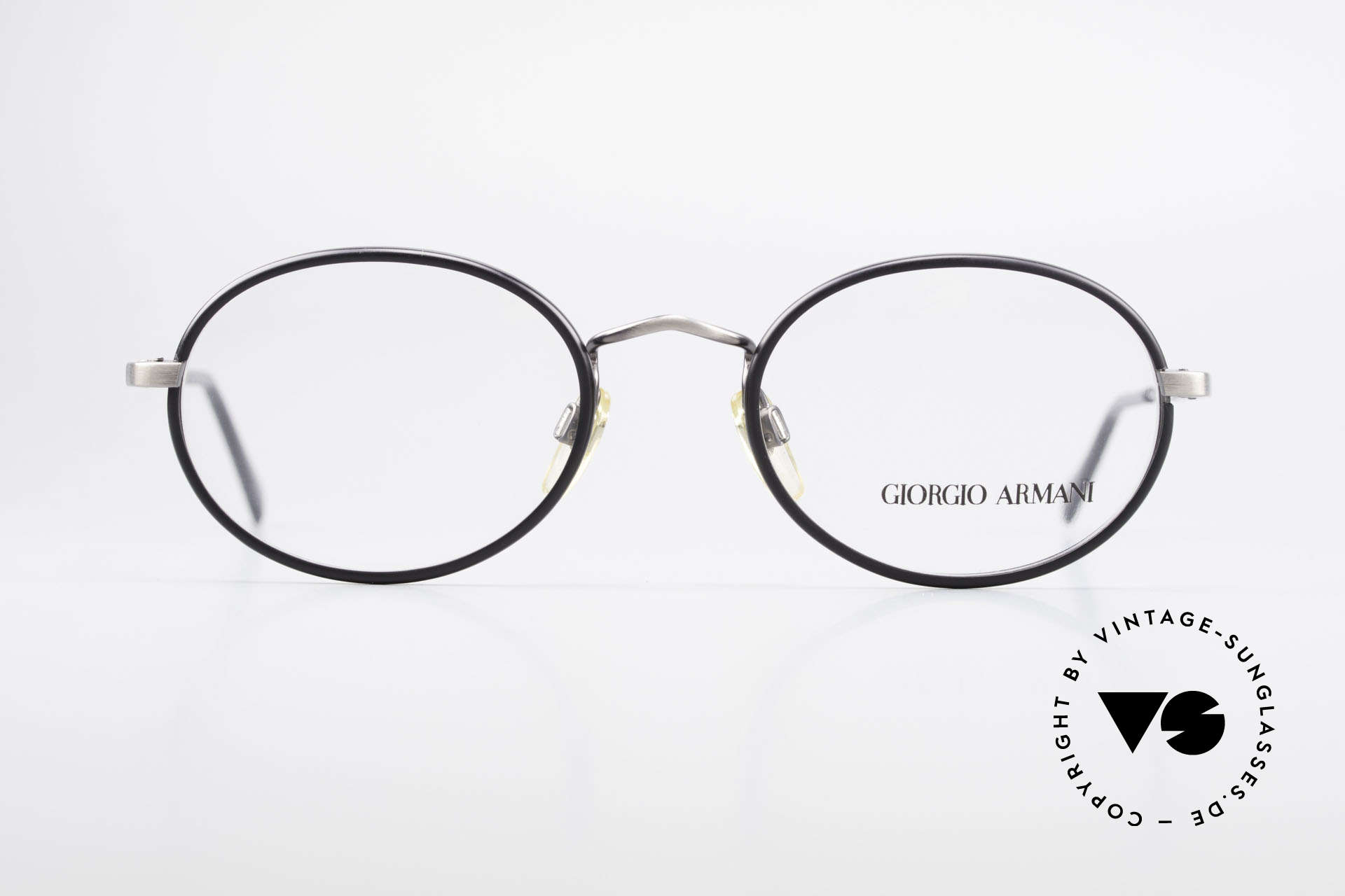 Giorgio Armani 235 Oval Vintage 80's Eyeglasses, a true classic in design & coloring (timeless elegant), Made for Men and Women