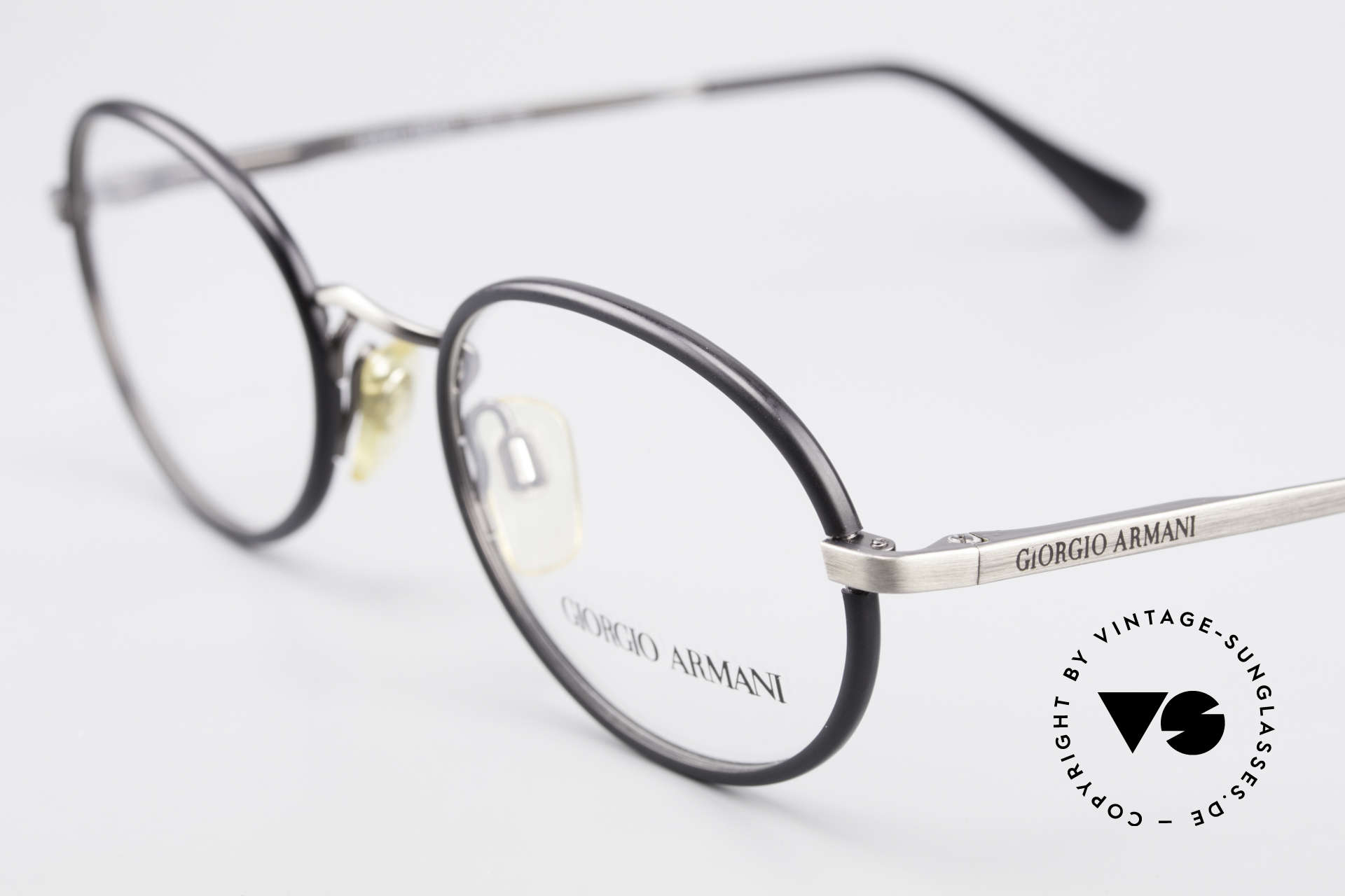 Giorgio Armani 235 Oval Vintage 80's Eyeglasses, never worn (like all our vintage 1980's Armani frames), Made for Men and Women