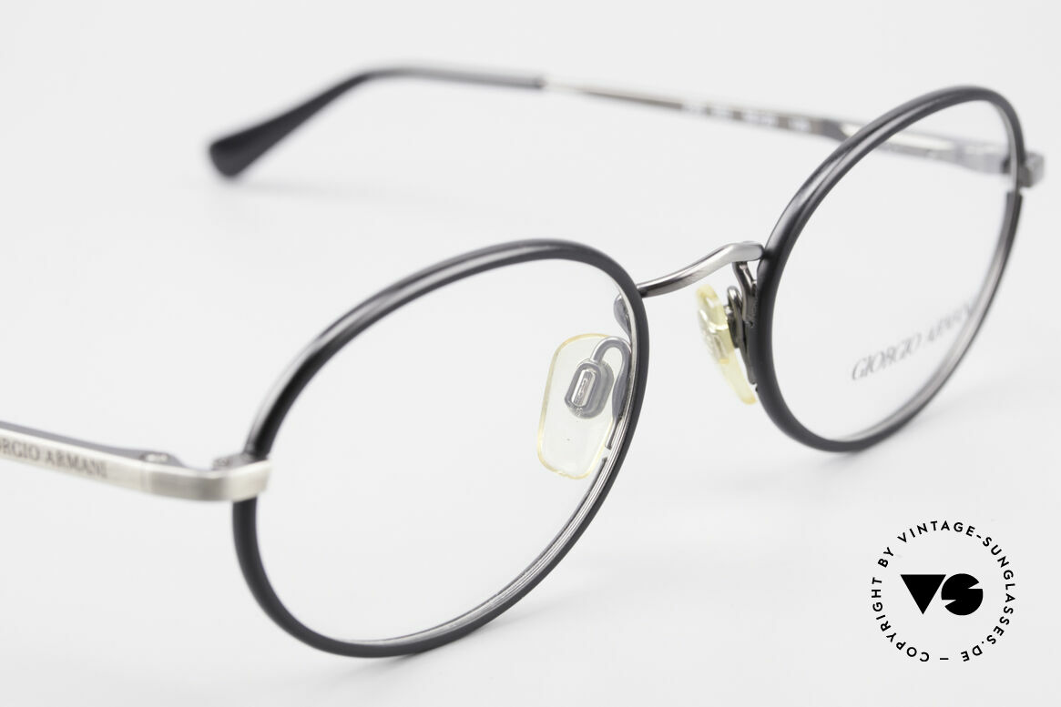 Giorgio Armani 235 Oval Vintage 80's Eyeglasses, NO RETRO GLASSES; a unique original by G. ARMANI, Made for Men and Women