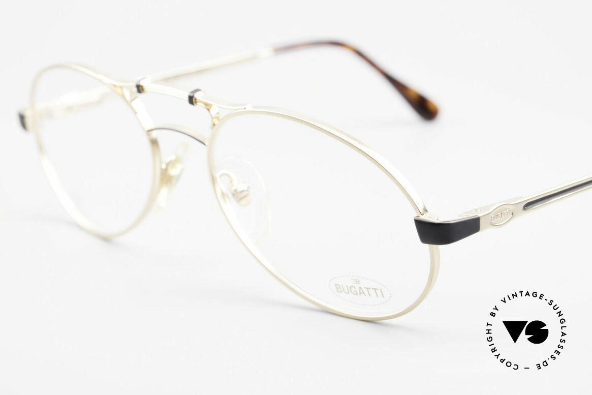Bugatti 13411 Vintage Men's Eyeglass Frame, neat spring hinges and crafting at the highest standard, Made for Men