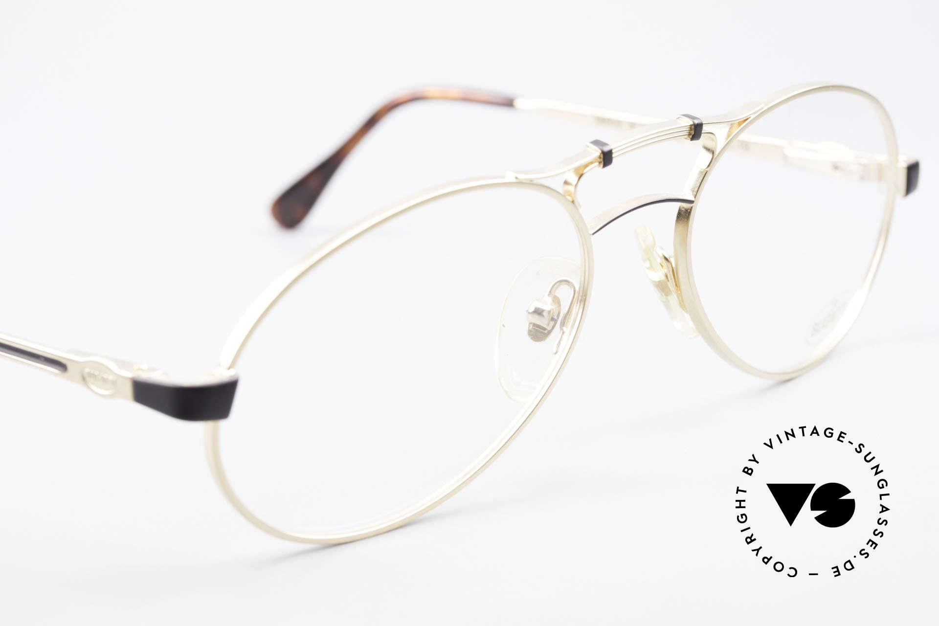 Bugatti 13411 Vintage Men's Eyeglass Frame, still unworn (like all our vintage 90's Bugatti glasses), Made for Men