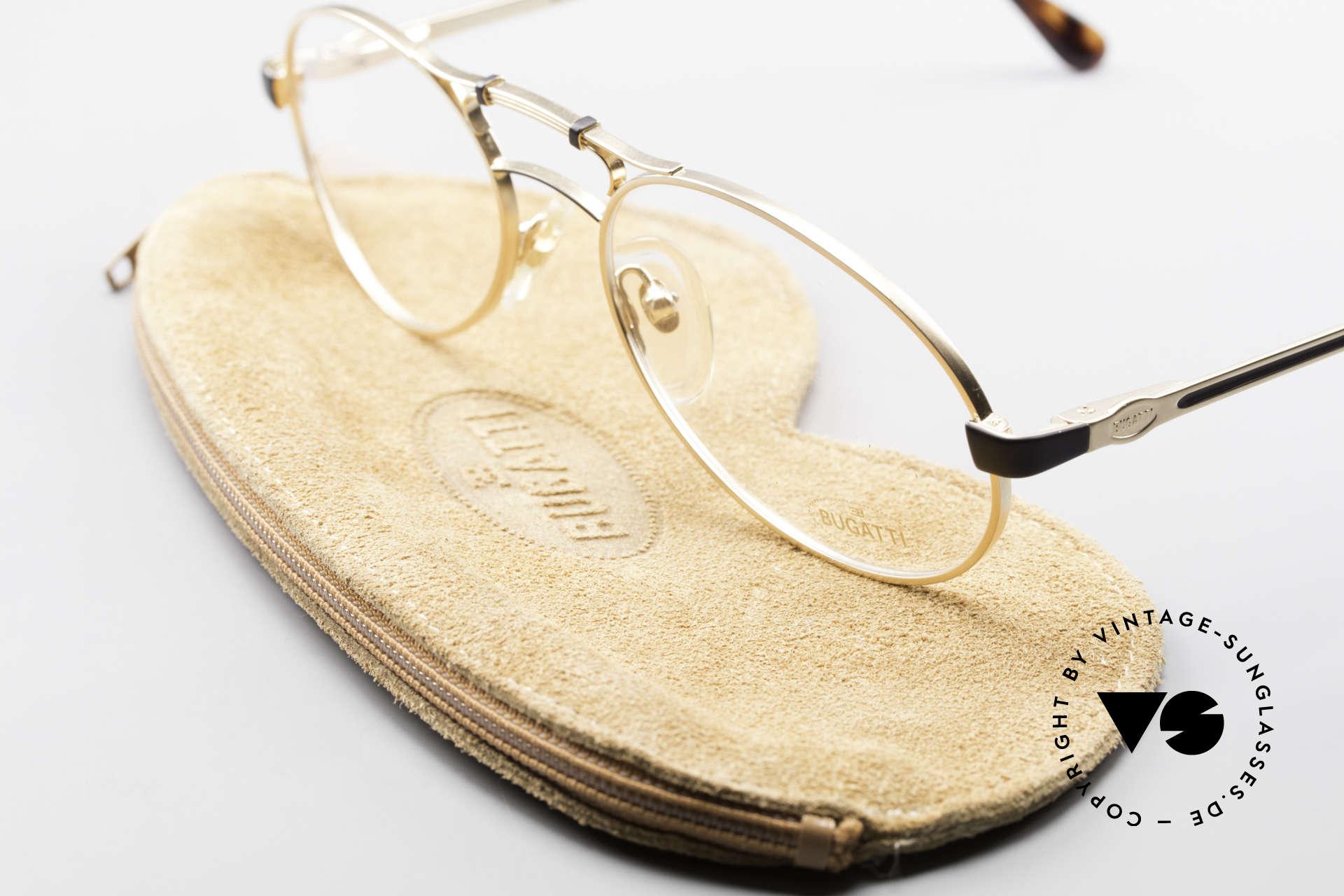 Bugatti 13411 Vintage Men's Eyeglass Frame, NO RETRO EYEWEAR, but a genuine vintage Bugatti!, Made for Men