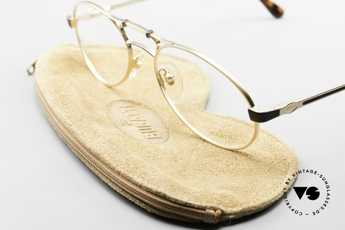 Bugatti 13411 Vintage Men's Eyeglass Frame
