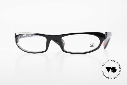 Bugatti 325 Odotype Rare Men's Designer Glasses Details