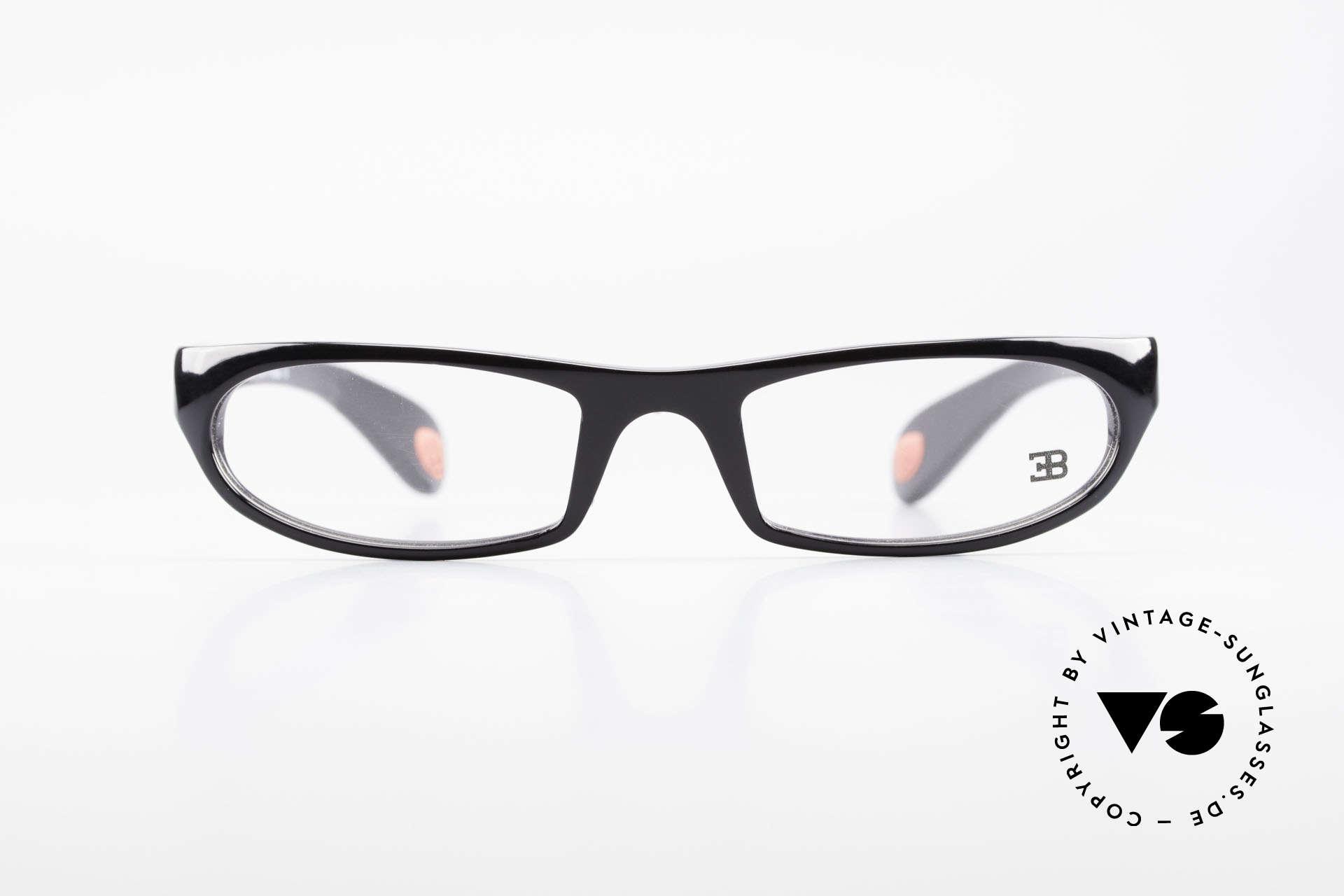 Bugatti 325 Odotype Rare Men's Designer Glasses, distinctive design of the ODOTYPE SERIES, Made for Men