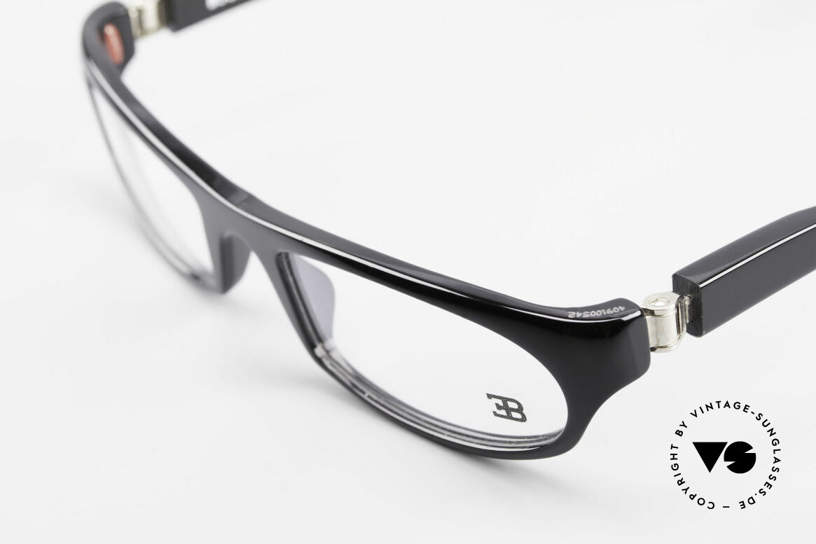 Bugatti 325 Odotype Rare Men's Designer Glasses, very special lens construction; TOP comfort, Made for Men