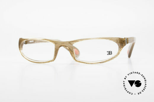 Bugatti 325 Odotype Rare Men's Designer Eyeglasses Details