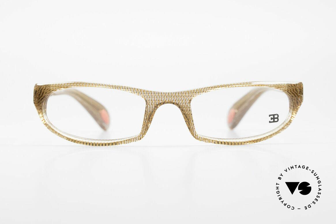 Bugatti 325 Odotype Rare Men's Designer Eyeglasses, sporty BUGATTI high-tech eyeglass-frame, Made for Men