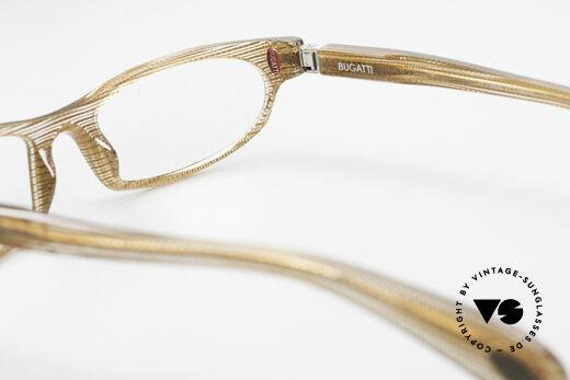 Bugatti 325 Odotype Rare Men's Designer Eyeglasses, very elegant crystal-brown frame pattern, Made for Men