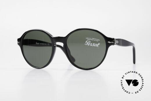 Persol 2988 Round Unisex Sunglasses Details