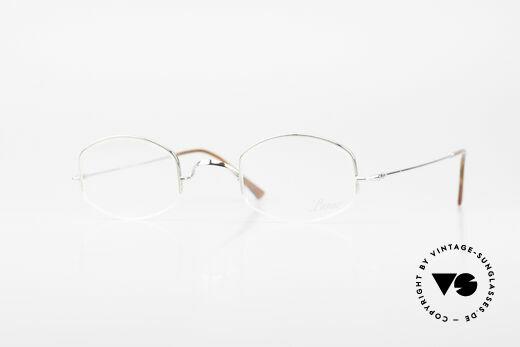Lunor String Semi Rimless Vintage Frame Details