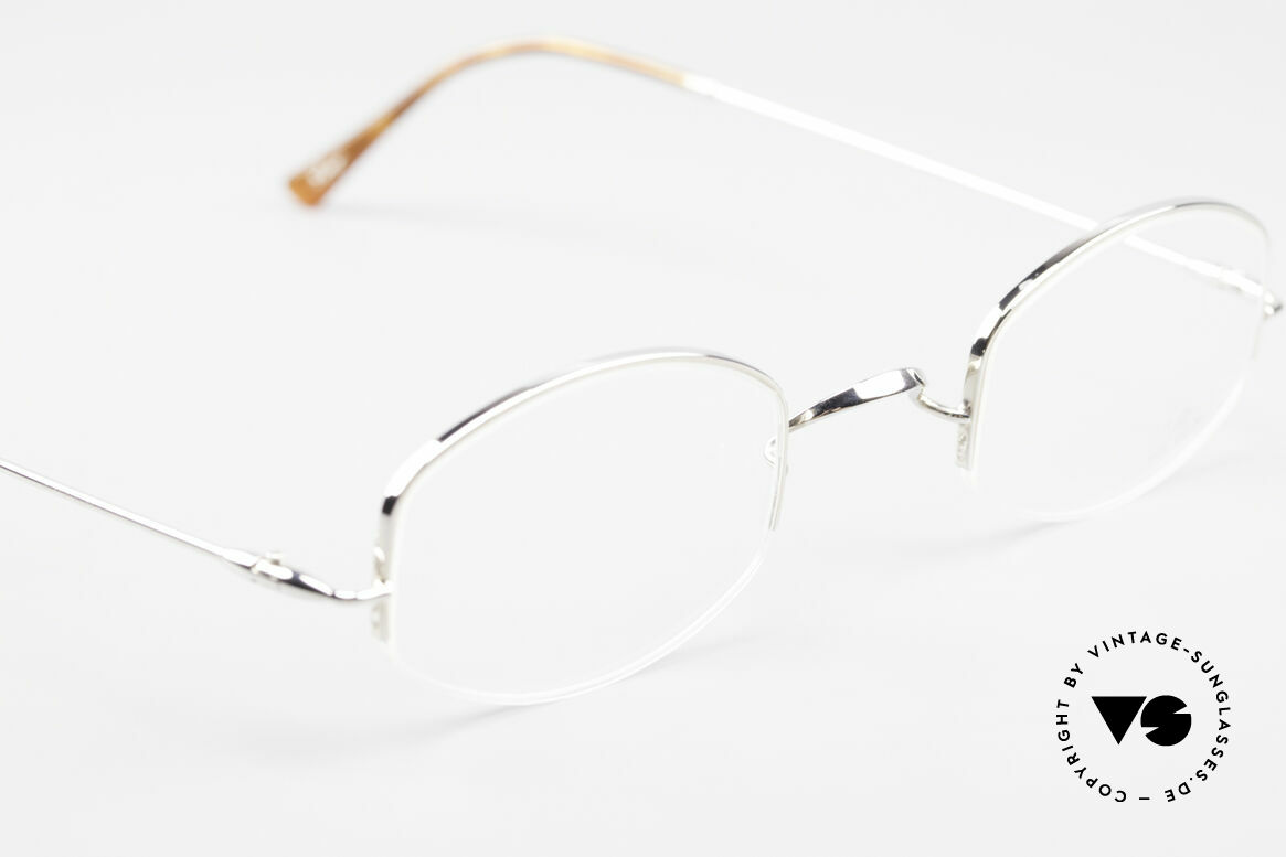 Lunor String Semi Rimless Vintage Frame, NO RETRO EYEGLASSES; but a luxury vintage ORIGINAL, Made for Men and Women