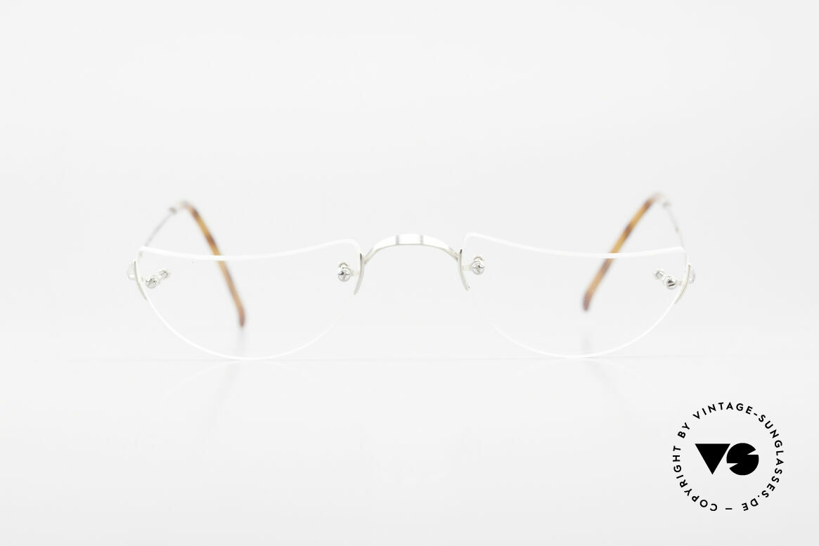 Lunor Classic Reading Rimless Reading Eyeglasses, traditional German brand; quality handmade in Germany, Made for Men and Women