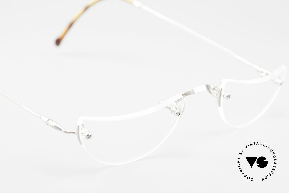 Lunor Classic Reading Rimless Reading Eyeglasses, unworn RARITY (for all lovers of quality) from app. 1999, Made for Men and Women