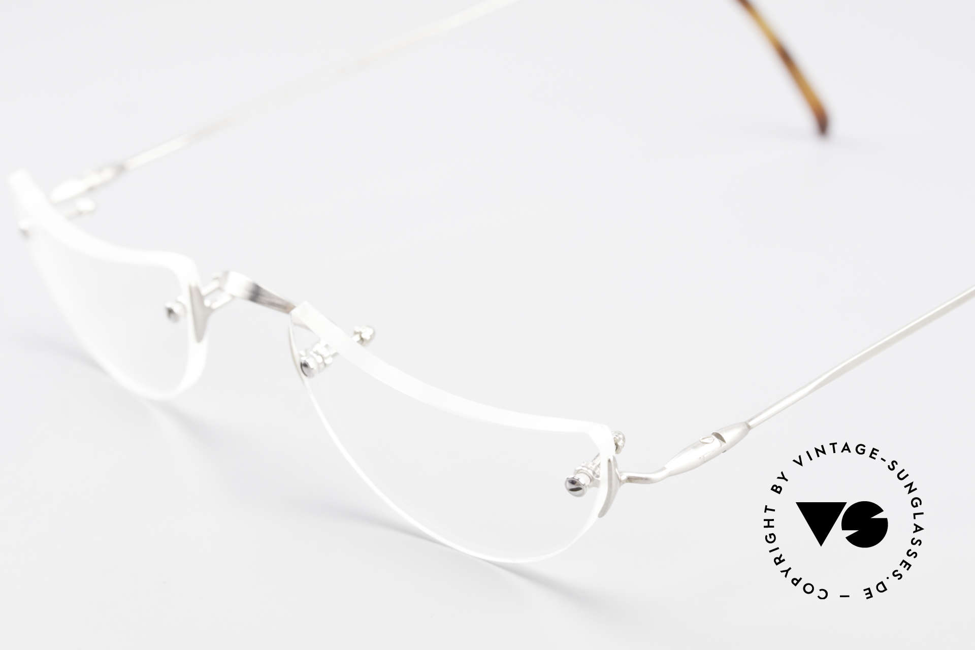 Lunor Classic Reading Rimless Reading Eyeglasses, NO RETRO EYEGLASSES; but a luxury vintage ORIGINAL, Made for Men and Women