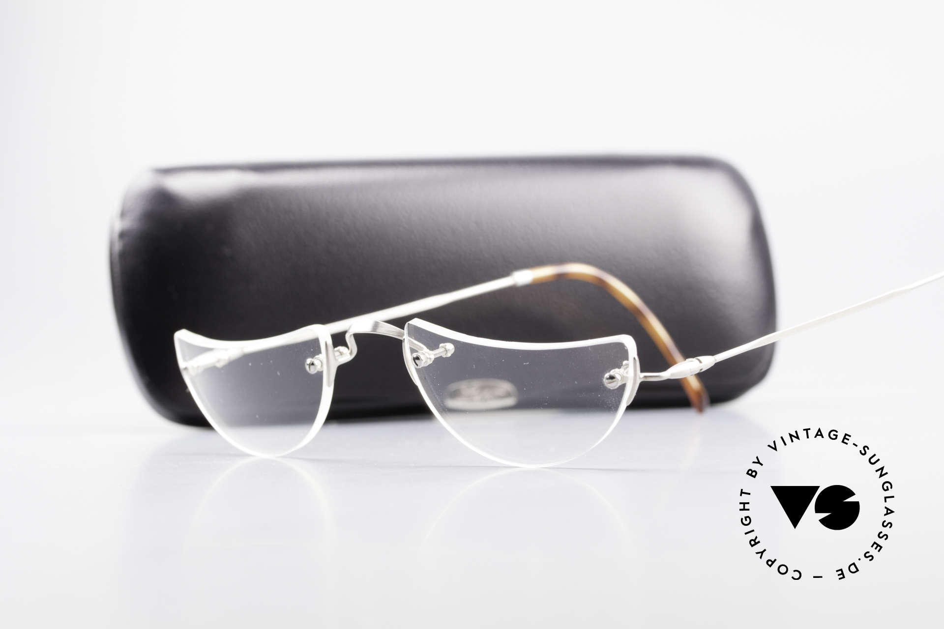 Lunor Classic Reading Rimless Reading Eyeglasses, Size: extra small, Made for Men and Women