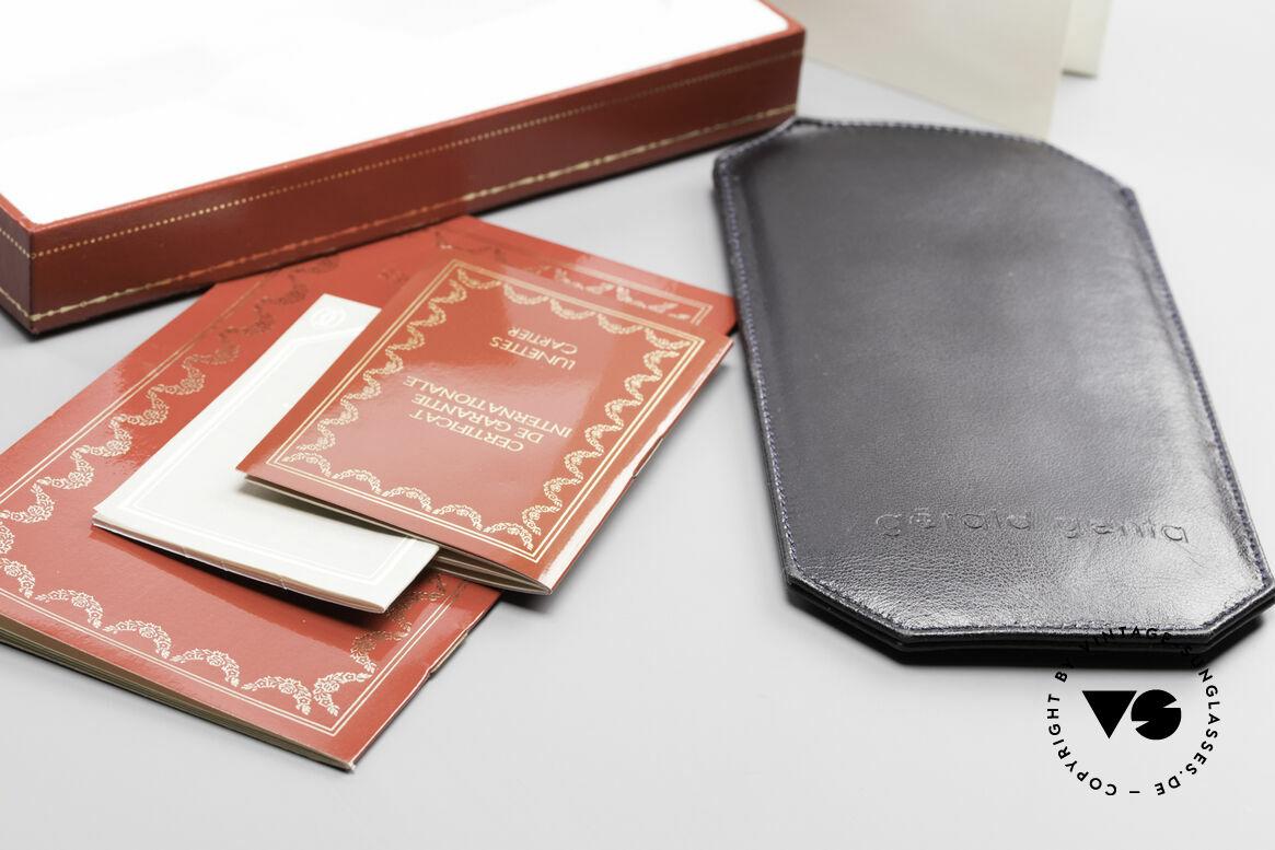 Cartier Filao Oval Frame Luxury Platinum