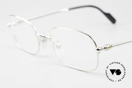 Cartier Deimios Square Frame Luxury Platinum