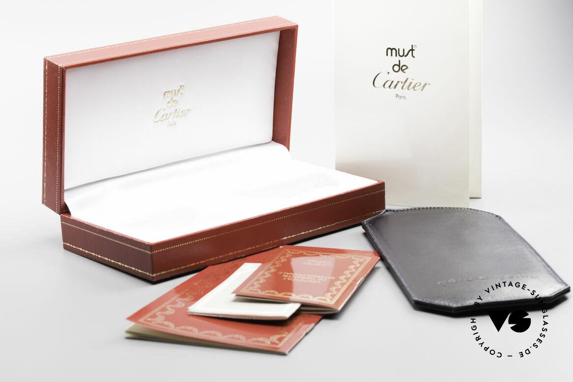 Cartier Broadway Semi Rimless Platinum Frame, Size: medium, Made for Men