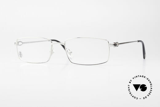 Cartier River - S Square Luxury Platinum Frame Details