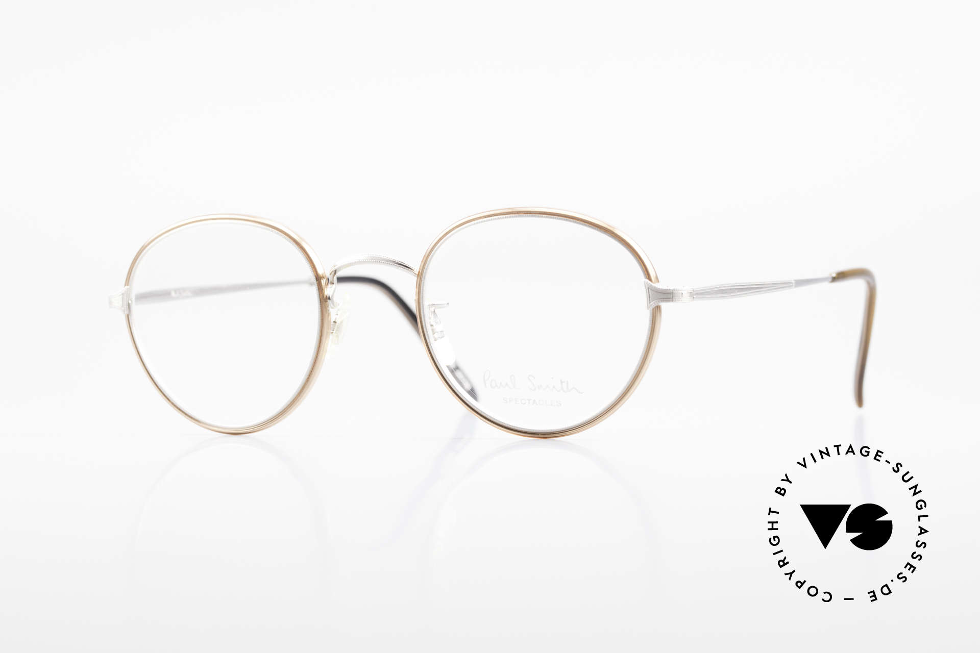 Paul Smith PSR109 Old Panto Frame Made in Japan, Paul Smith vintage glasses from the late 80's/early 90's, Made for Men