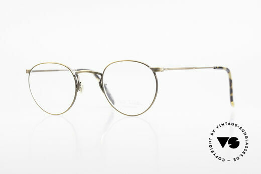 Paul Smith PS102 Small Panto Frame Japan Made Details