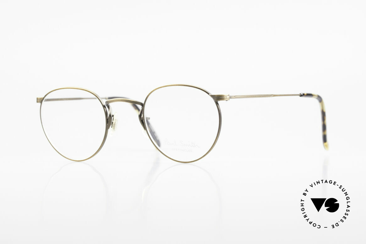 Paul Smith PS102 Small Panto Frame Japan Made, Paul Smith vintage glasses from the late 80's/early 90's, Made for Men