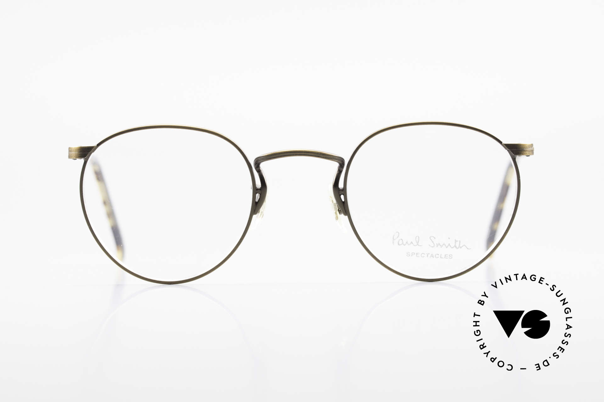 Paul Smith PS102 Small Panto Frame Japan Made, the time before PS Spectacles became licensed products, Made for Men