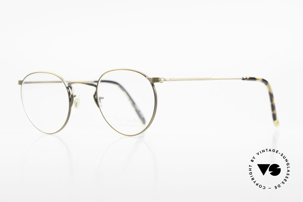 Paul Smith PS102 Small Panto Frame Japan Made, this rare OLD Paul Smith Original is still 'made in Japan', Made for Men