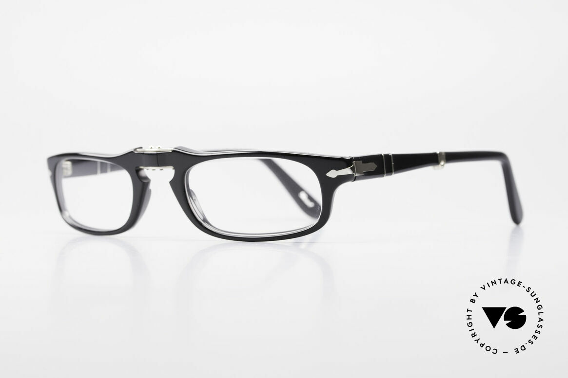 Persol 2886 Folding Reading Eyeglasses Foldable, Steve McQueen made Persol RATTI models world-famous, Made for Men and Women