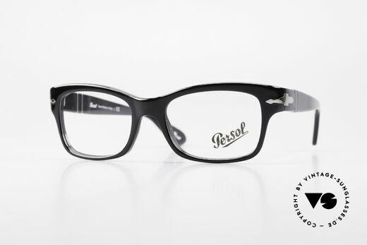 Persol 3054 Vintage Glasses Classic Frame Details