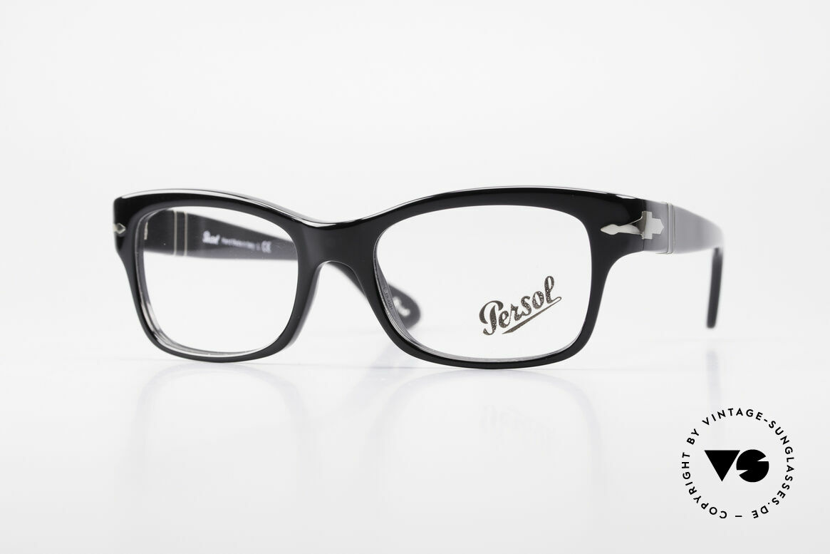 Persol 3054 Vintage Glasses Classic Frame, very elegant Persol eyeglass-frame from Italy, Made for Men and Women