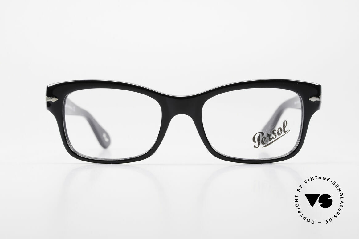 Persol 3054 Vintage Glasses Classic Frame, classic timeless design and best craftsmanship, Made for Men and Women