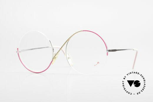 Casanova FC9 Artful Vintage Eyeglasses Details