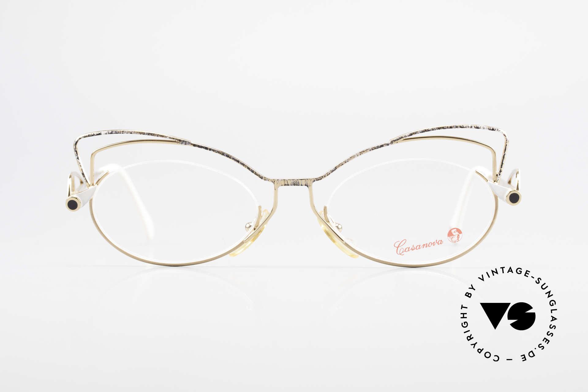 Casanova LC2 Enchanting Ladies Eyeglasses, fantastic combination of color, shape & functionality, Made for Women