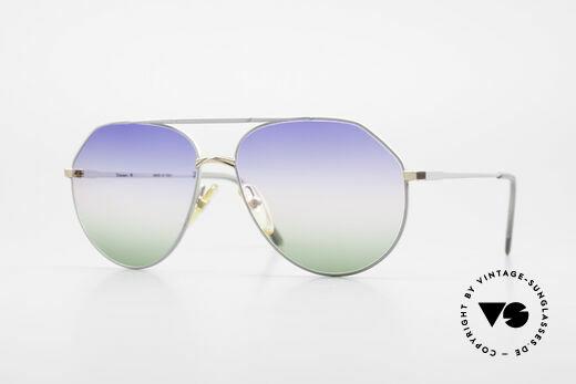 Casanova 6052 Titanium Aviator Sunglasses Details