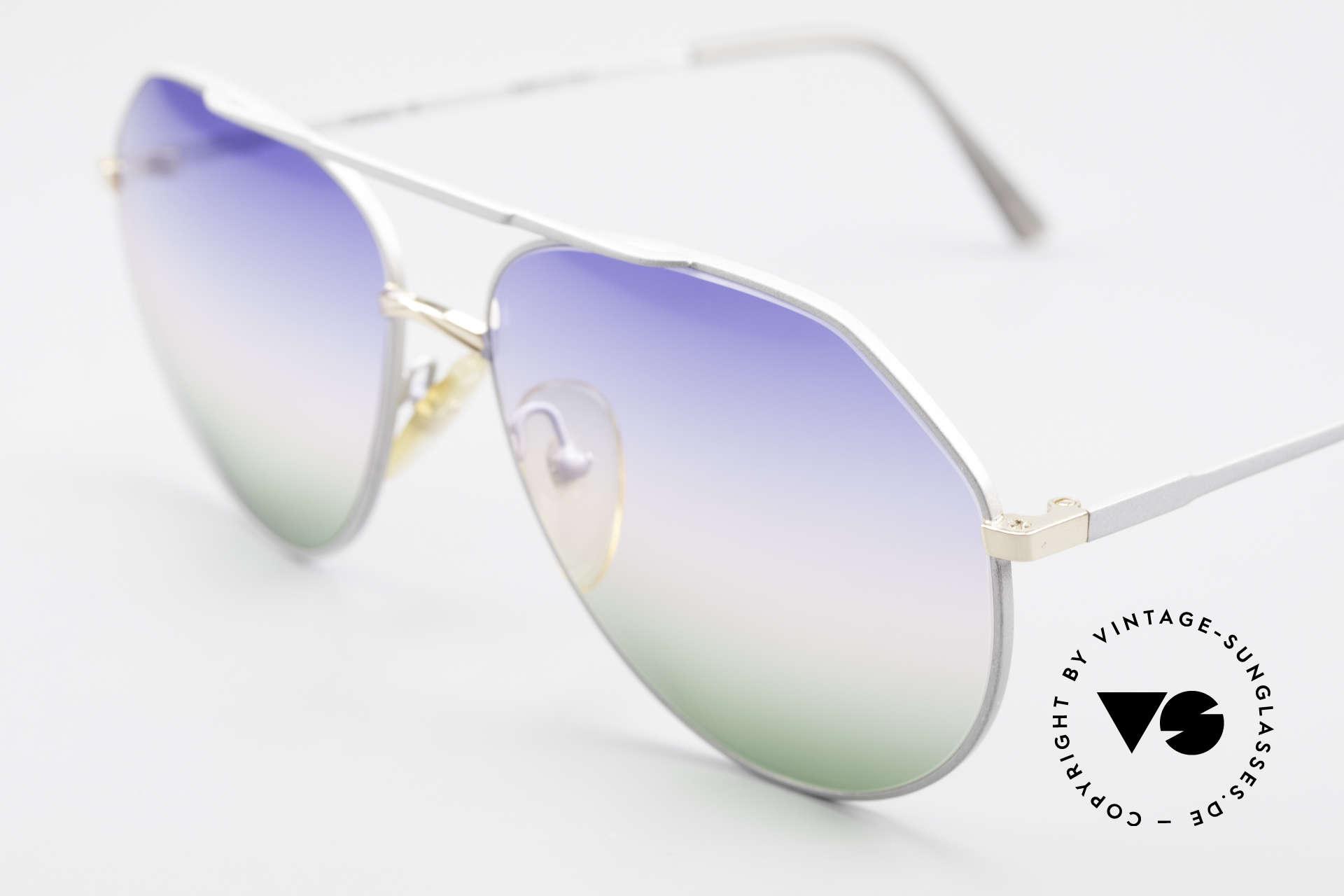 Casanova 6052 Titanium Aviator Sunglasses, great combination of colors, shape & functionality, Made for Men and Women