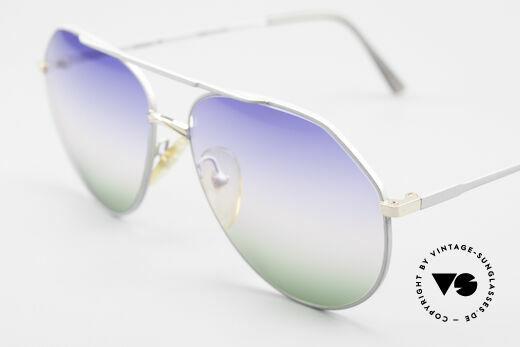 Casanova 6052 Titanium Aviator Sunglasses