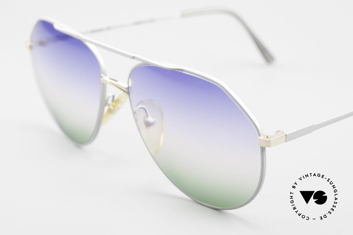 Casanova 6052 Titanium Aviator Sunglasses, great combination of colors, shape & functionality, Made for Men and Women
