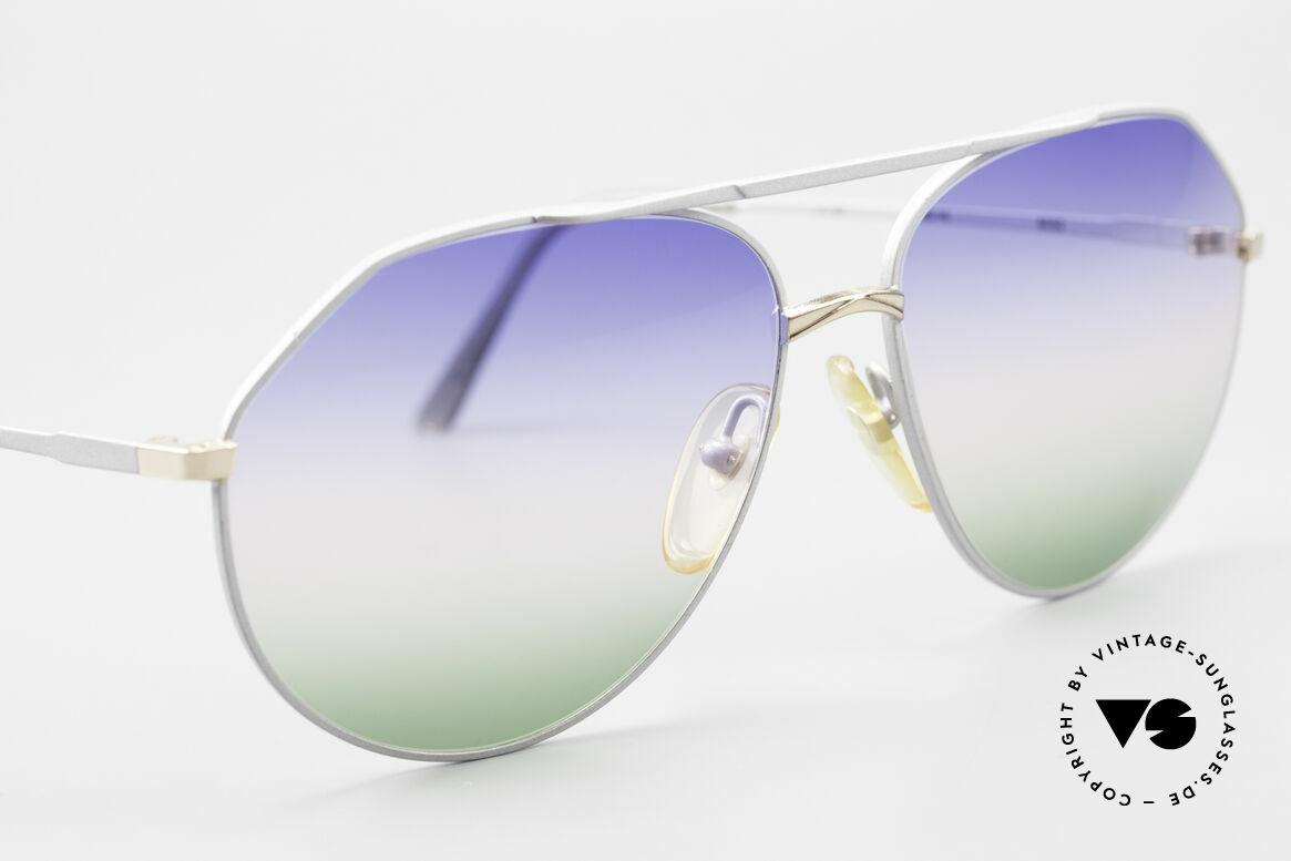 Casanova 6052 Titanium Aviator Sunglasses, NOS - unworn (like all our aviator vintage shades), Made for Men and Women