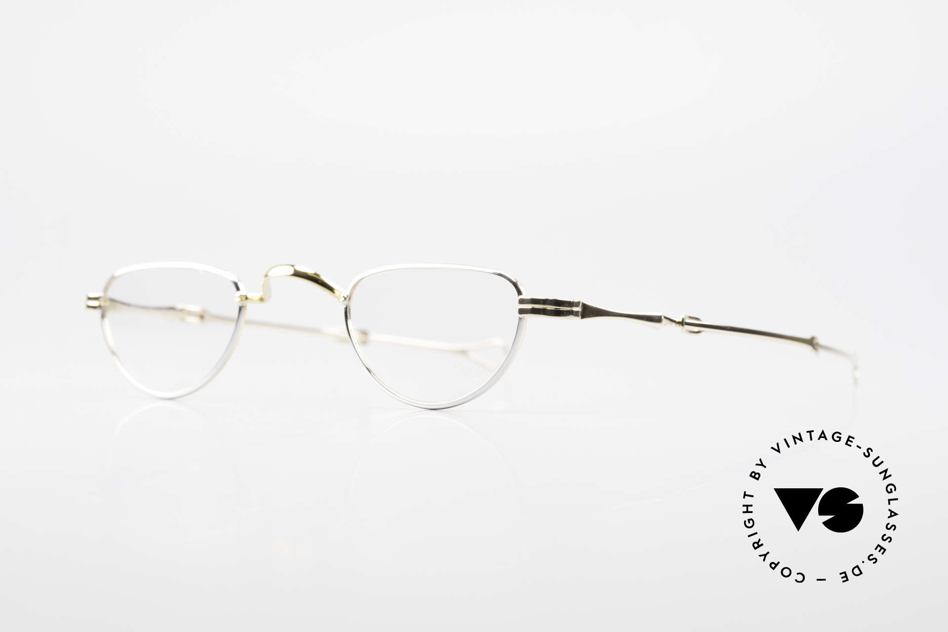 "Lunor I 06 Telescopic Extendable Reading Frame, well-known for the ""W-bridge"" & the plain frame designs, Made for Men and Women"
